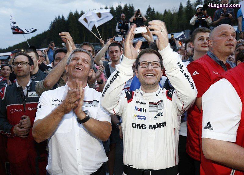 Fritz Enzinger, Leiter LMP1, Andreas Seidl, Teamchef Porsche Team (l-r)