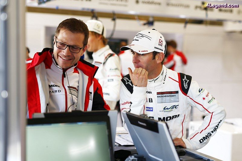 Andreas Seidl, Teamchef Porsche Team, Porsche Team: Romain Dumas (l-r)