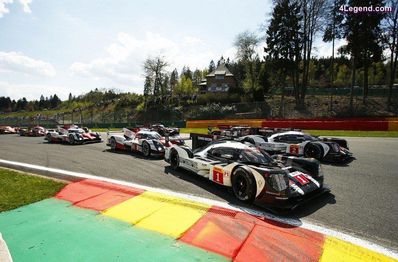 Porsche 919 Hybrid, Porsche Team 1: Timo Bernhard, Brendon Hartley, Mark Webber, Porsche Team 2: Romain Dumas, Neel Jani, Marc Lieb