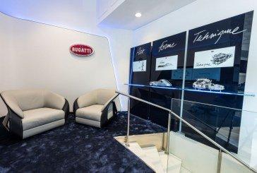 Une nouvelle concession à Monte-Carlo pour Bugatti Monaco avec une boutique Lifestyle