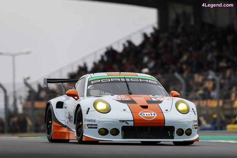 Porsche 911 RSR (86), Gulf Racing: Michael Wainwright, Adam Carroll, Ben Barker