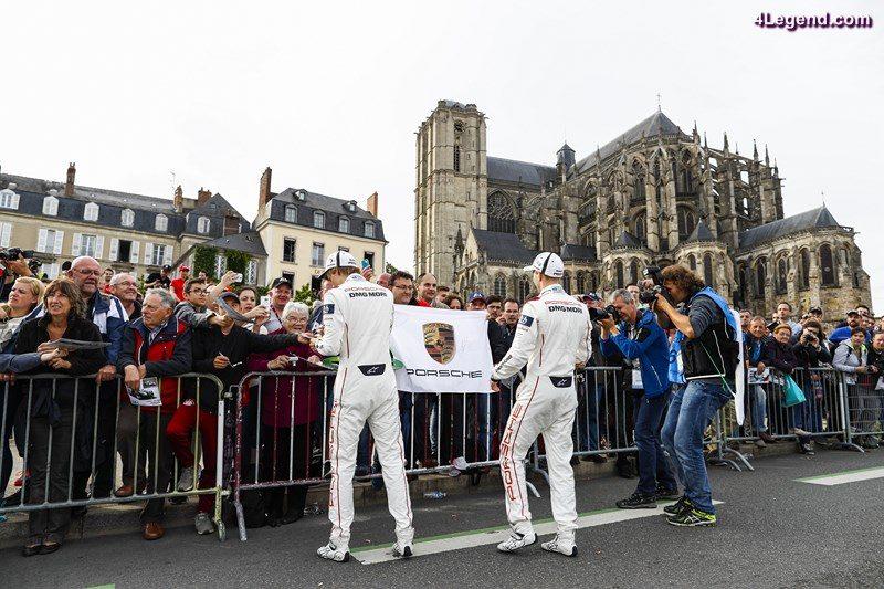 Porsche Team: Brendon Hartley, Timo Bernhard (l-r)