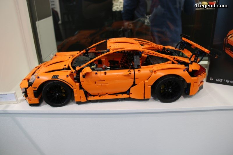 24 heures du mans 2016 une porsche 911 gt3 rs by lego technic. Black Bedroom Furniture Sets. Home Design Ideas