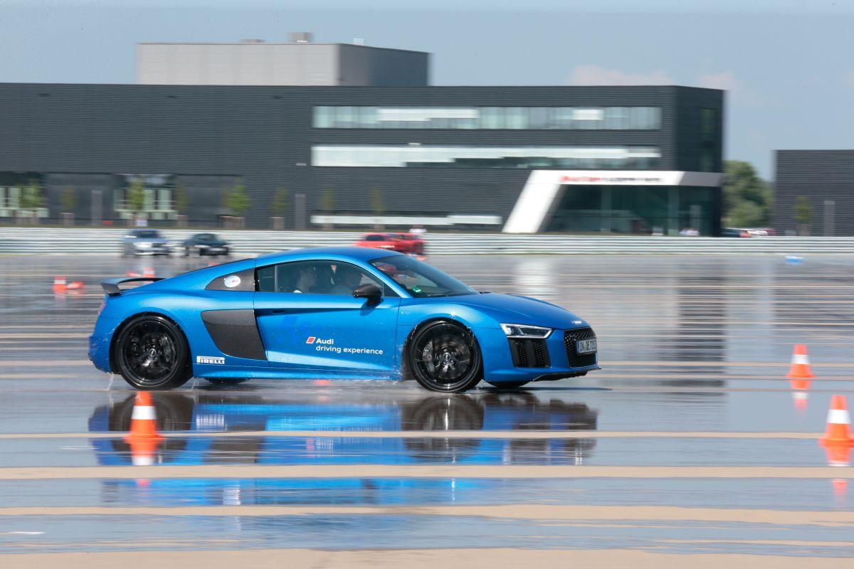 L'élite du ski international s'est réunit à Neuburg pour participer à l'Audi driving experience