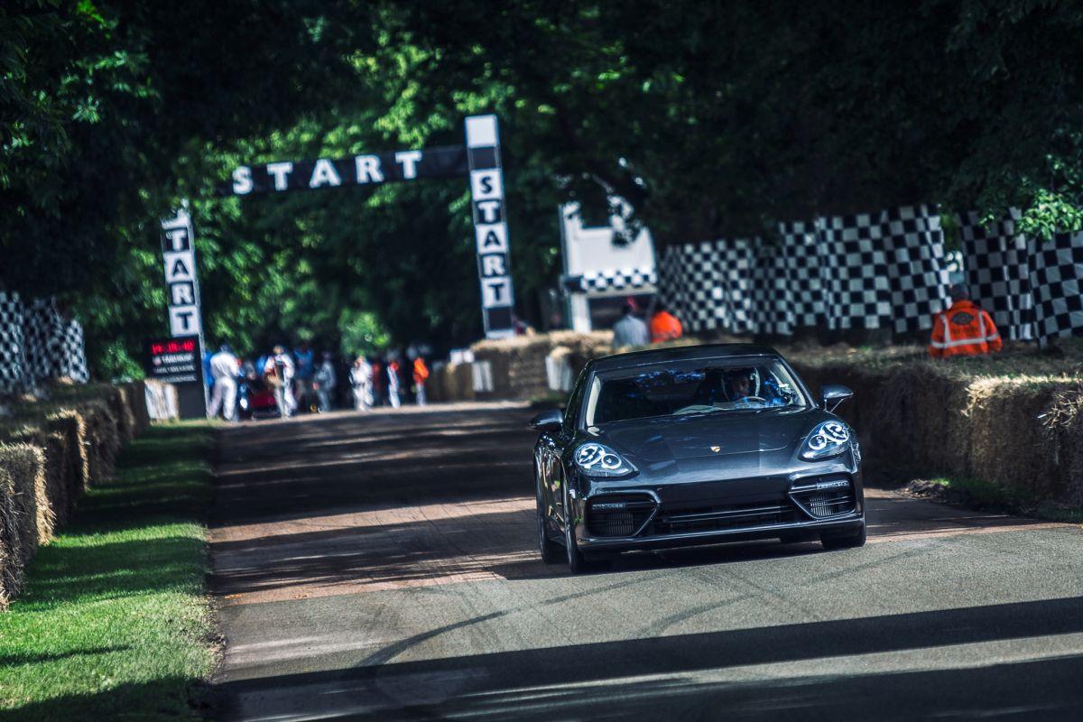 Goodwood 2016 - Porsche présente sa nouvelle Panamera au public