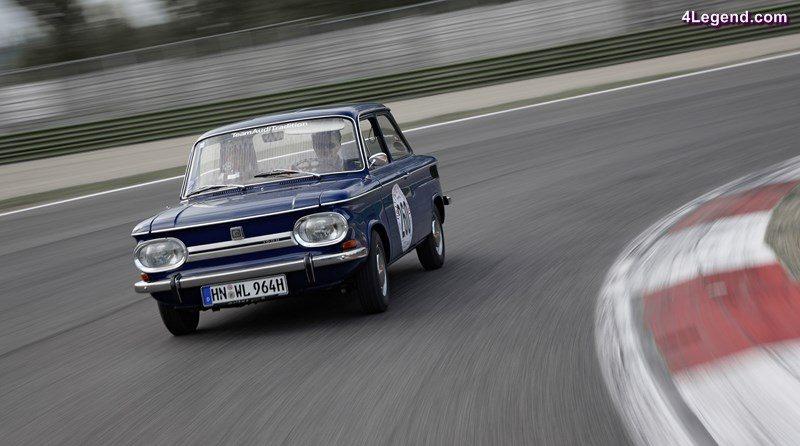 Der NSU 1000 C lief von 1967 bis 1972 in Neckarsulm vom Band. Der Klassiker startet am 23. Juni bei der Donau Classic.