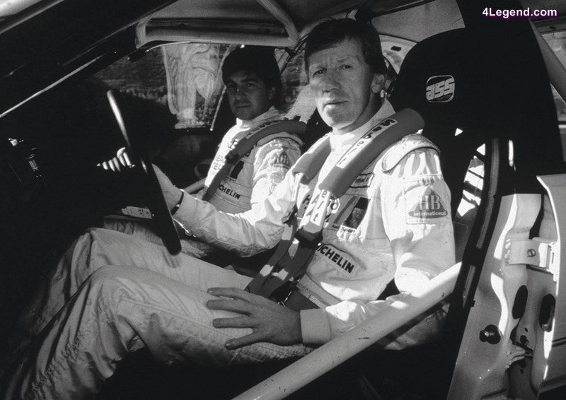 The King of Monte Carlo - Walter Röhrl and Christian Geistdörfer in the cockpit of their quattro.