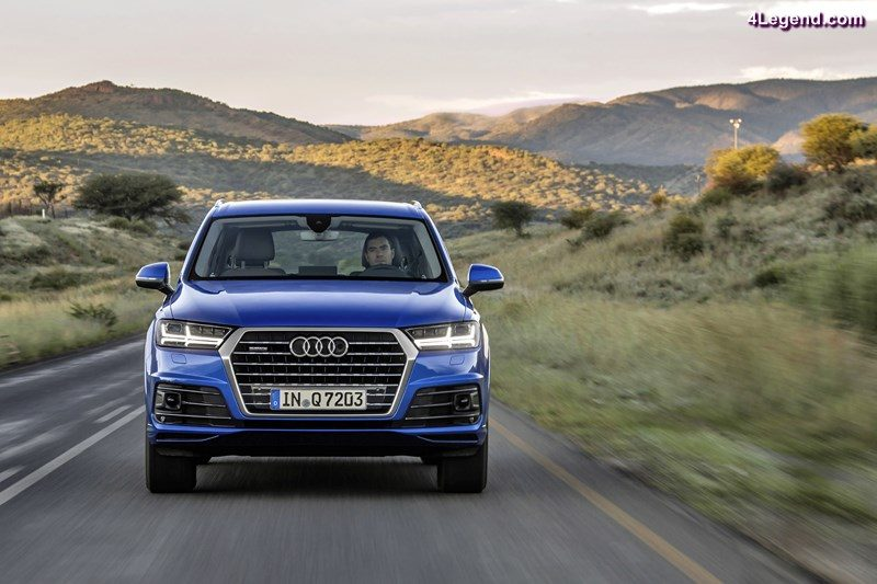 AUDI AG sold around 164,150 cars to customers in May, representing a global increase of 6.7 percent year on year. With their new model generations, growth for the A4 Sedan and the A4 Avant reached 16.2 percent. The new Q7 full size SUV also continued its successful start, up 79.6 percent in May. Picture: the new Audi Q7