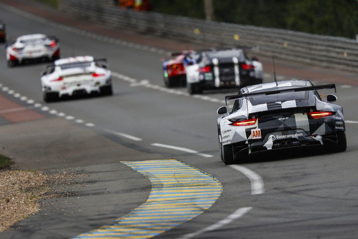 24 Heures du Mans 2016 - Quatrième rangée de la grille GT pour la meilleure Porsche 911 RSR