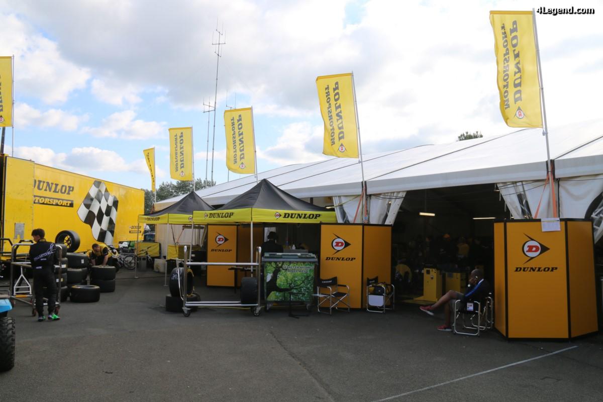 24 Heures du Mans 2016 - A la découverte de l'atelier Dunlop Motorsport qui monte les pneus