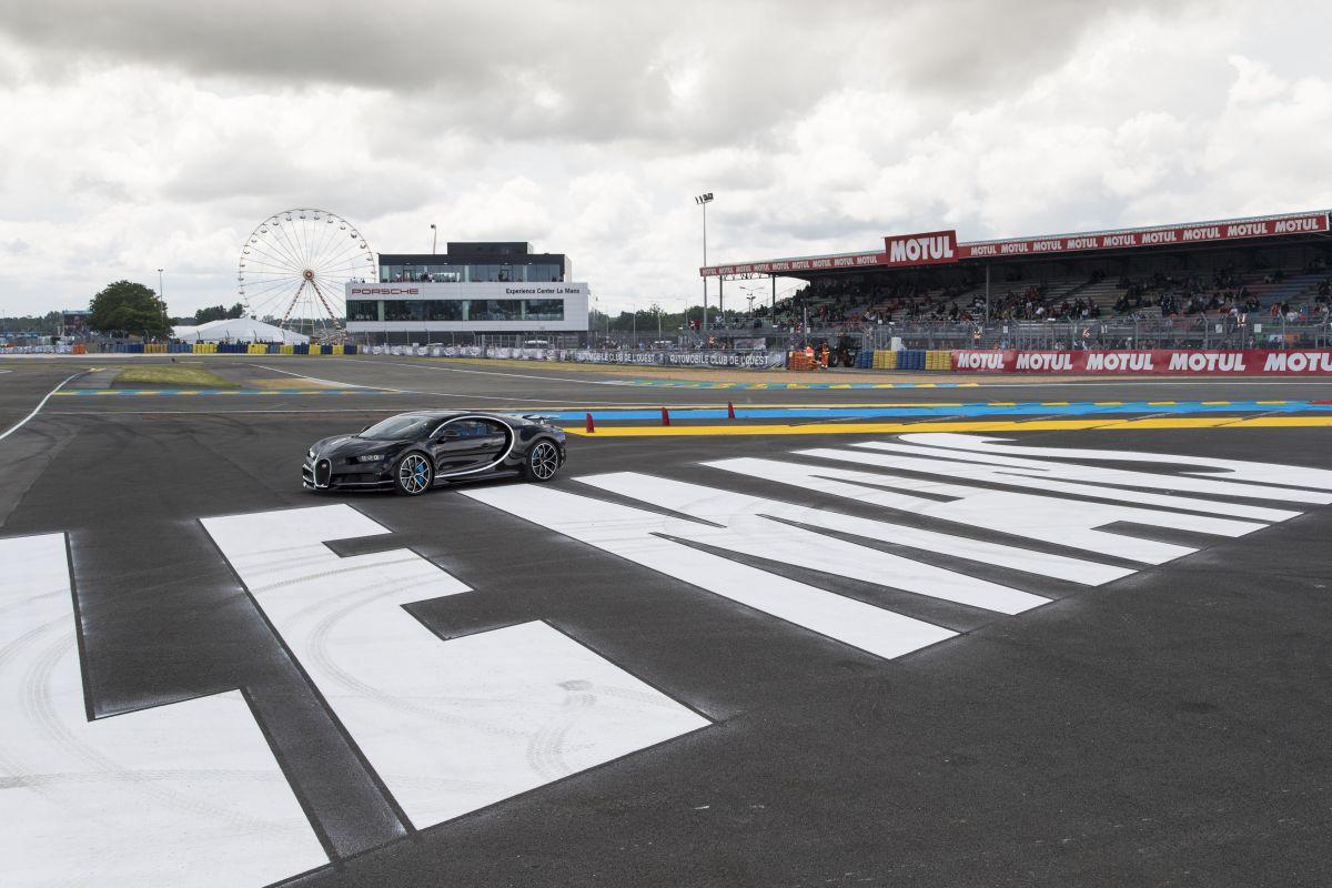 24 Heures du Mans 2016 - Première présentation en France de la Bugatti Chiron