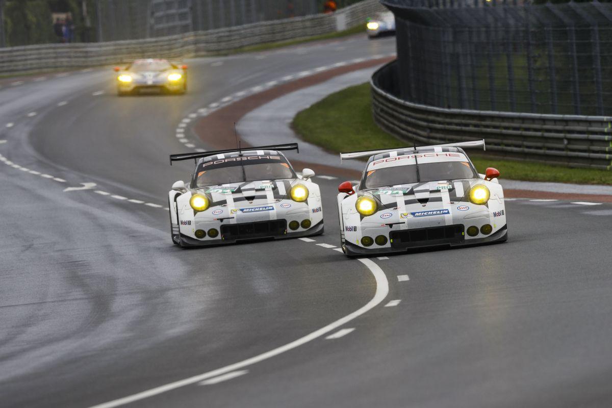 24 Heures du Mans 2016 - Les Porsche 911 RSR n'ont pas brillé durant la course en GTE-AM et GTE-PRO
