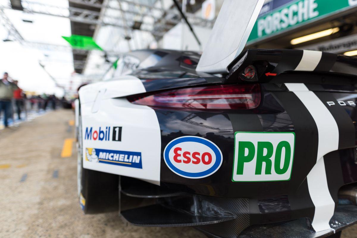 24 Heures du Mans 2016 - Esso est le nouveau partenaire de Porsche Motorsport