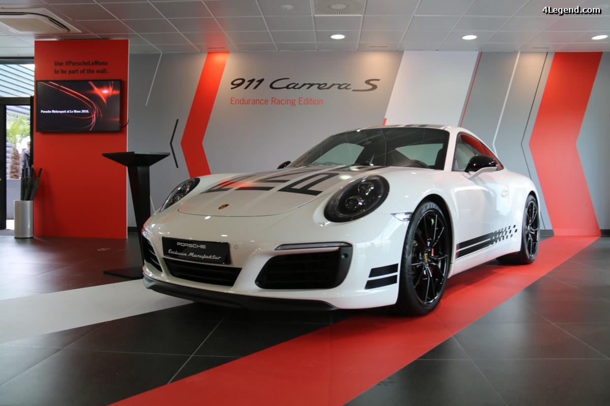 Porsche 911 Carrera S Endurance Racing Edition - Série limitée à 235 exemplaires