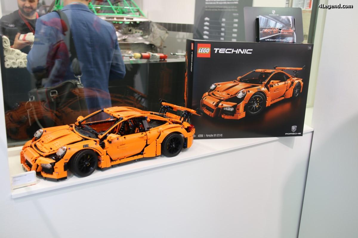 24 Heures du Mans 2016 - Une Porsche 911 GT3 RS by LEGO Technic