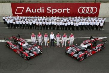 24 Heures du Mans 2016 – présentation des voitures et des équipages Audi