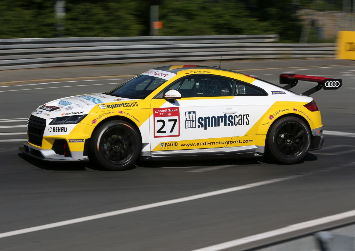 Audi Sport TT Cup - Victoire de Lucas di Grassi au Norisring
