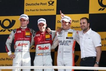 DTM – Deuxième victoire pour Miguel Molina, doublé pour Audi au Lausitzring le samedi