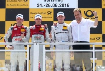 DTM – Audi gagne enfin au Norisring et fait un doublé