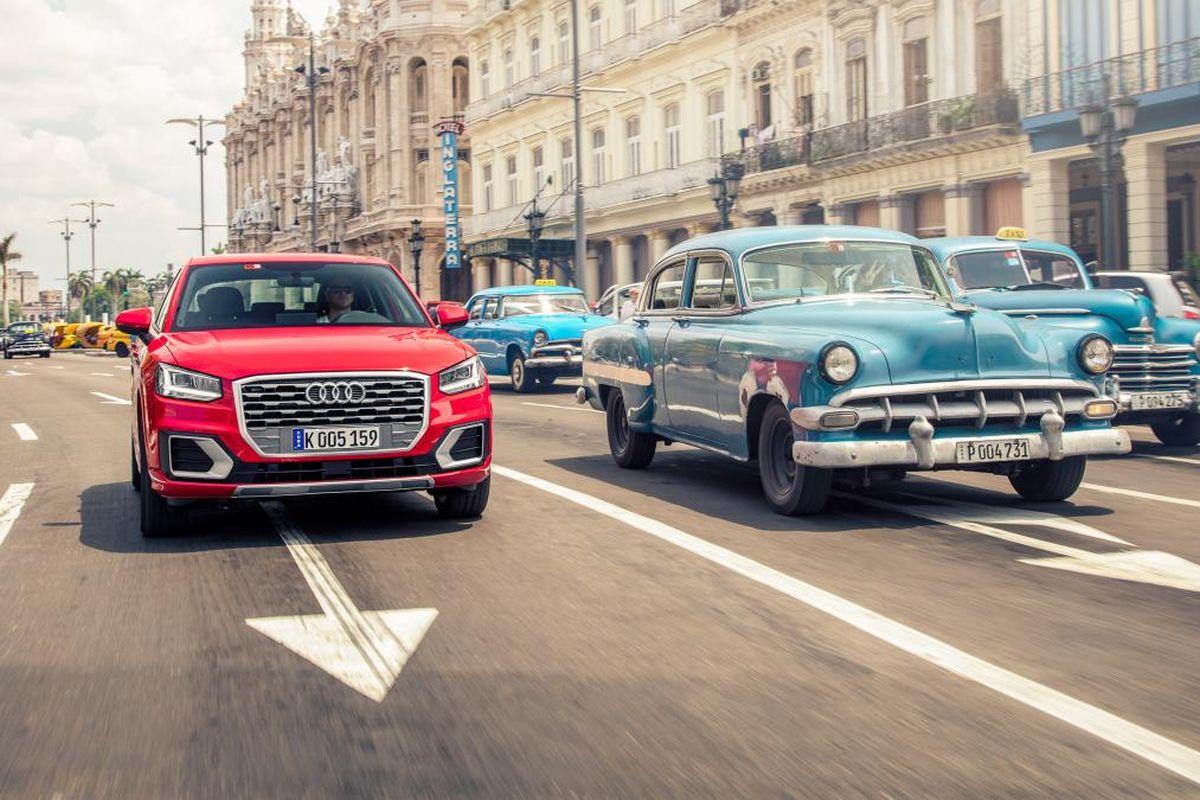 Essais presse de l'Audi Q2 à Cuba - Audi fait sensation!