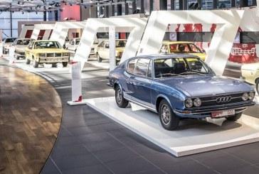 Exposition «De Zéro à 100» à l'Audi Forum Neckarsulm – L'histoire de l'Audi 100