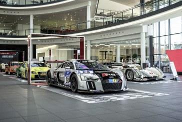 """Exposition spéciale """"Home of Legends"""" à l'Audi Forum Neckarsulm"""
