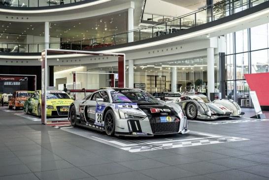 Exposition spéciale «Home of Legends» à l'Audi Forum Neckarsulm