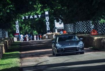 Goodwood 2016 – Porsche présente sa nouvelle Panamera au public