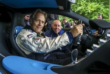 Goodwood 2016 – Lord March conduit la Bugatti Chiron