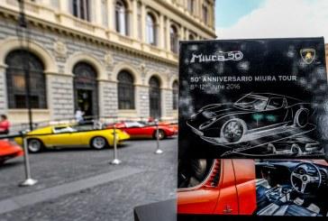 Miura Tour – Lamborghini fête les 50 ans de la Miura sur 500 km de routes italiennes