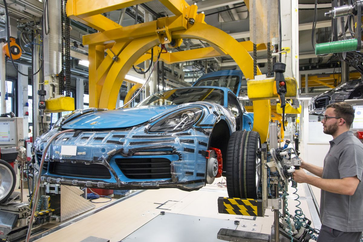 Lancement de la production de la nouvelle Porsche 718 Cayman