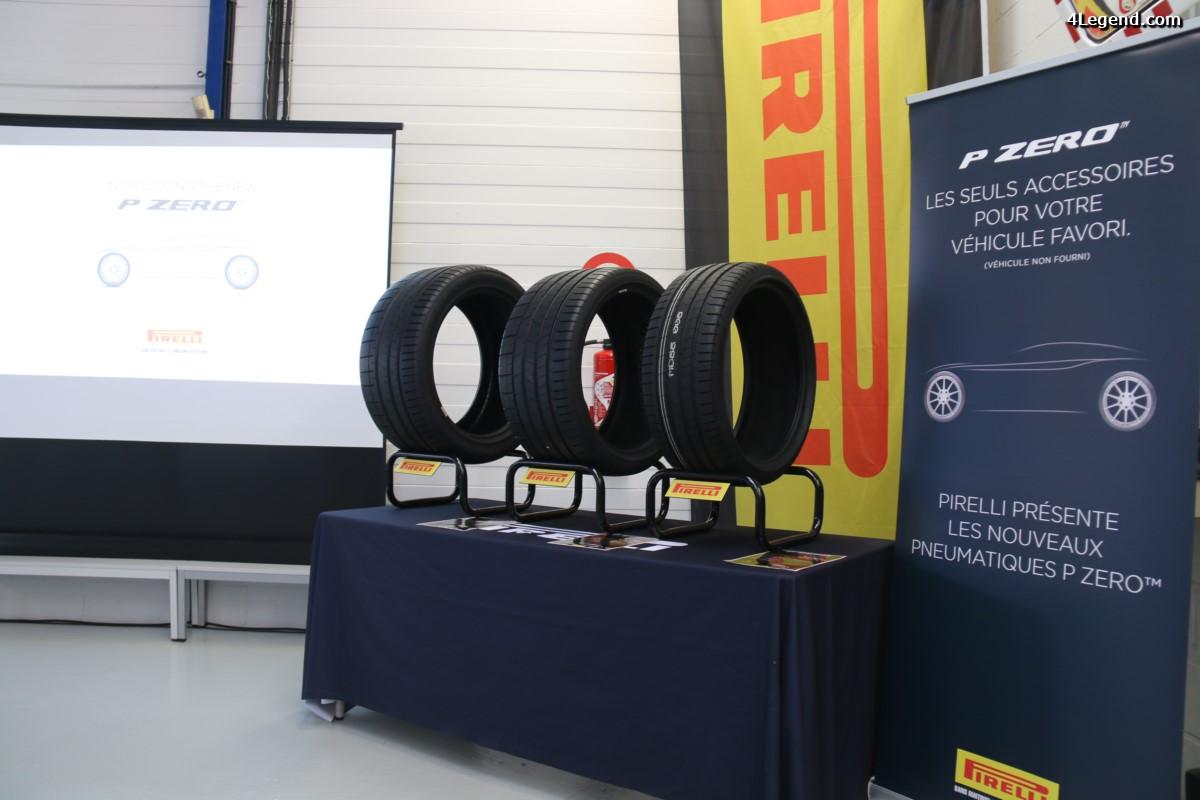 Nouveau pneu Pirelli P Zero - Trois variantes pour 3 utilisations différentes