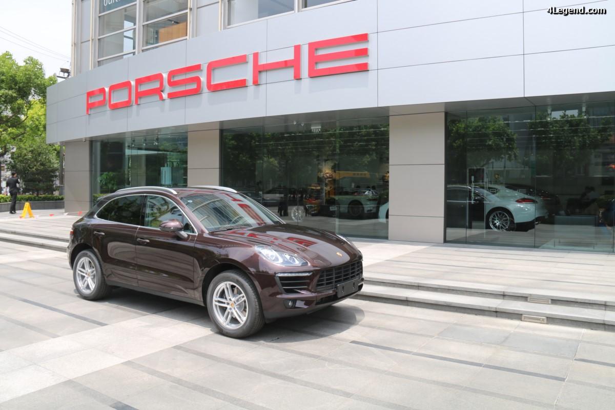 Porsche Centre Shanghai Puxi - Une concession Porsche au centre de Shanghai