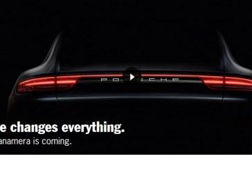Première image de la nouvelle Porsche Panamera – Présentation le 28 juin 2016
