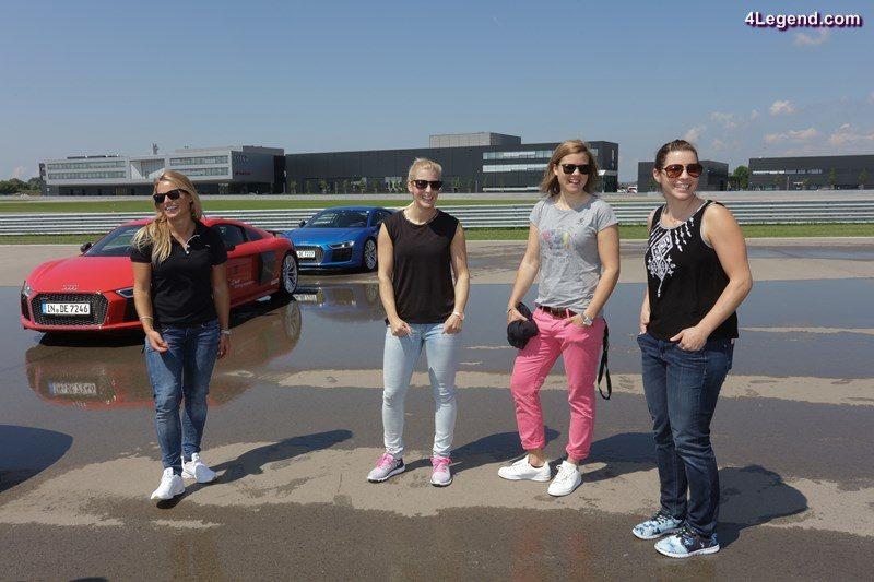 Lara Gut (CH), Eva-Maria Brem (A), Viktoria Rebensburg (D), Tina Weirather (LI)