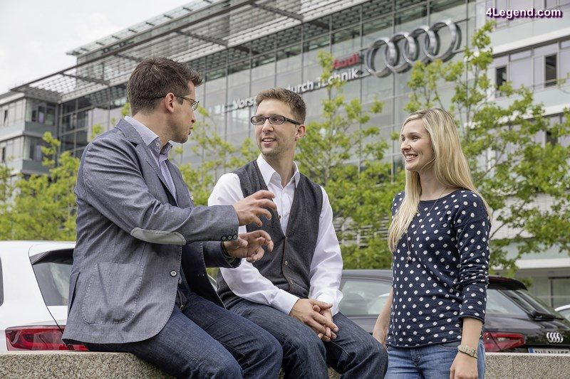 Amongst young employees, Audi is more popular than ever as an employer. The automobile manufacturer has achieved  its best results in the renowned Universum study for young professionals since taking part in the ranking.