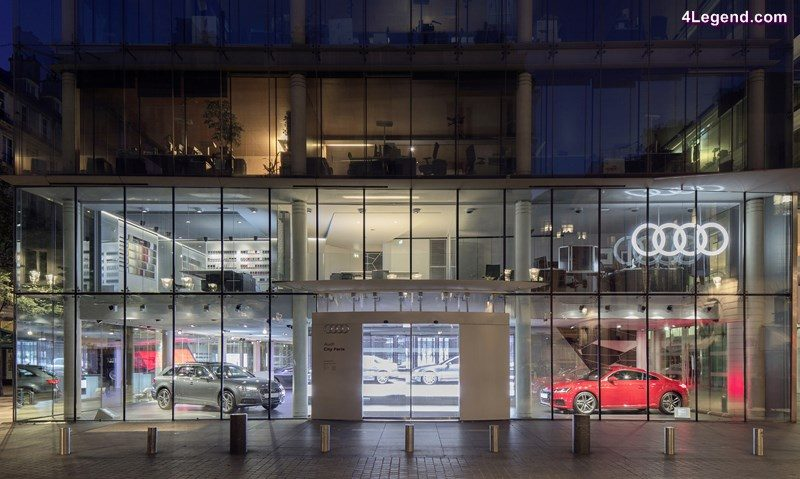 Audi city paris le showroom digital au c ur de paris - Cuisine et confidences place du marche saint honore ...