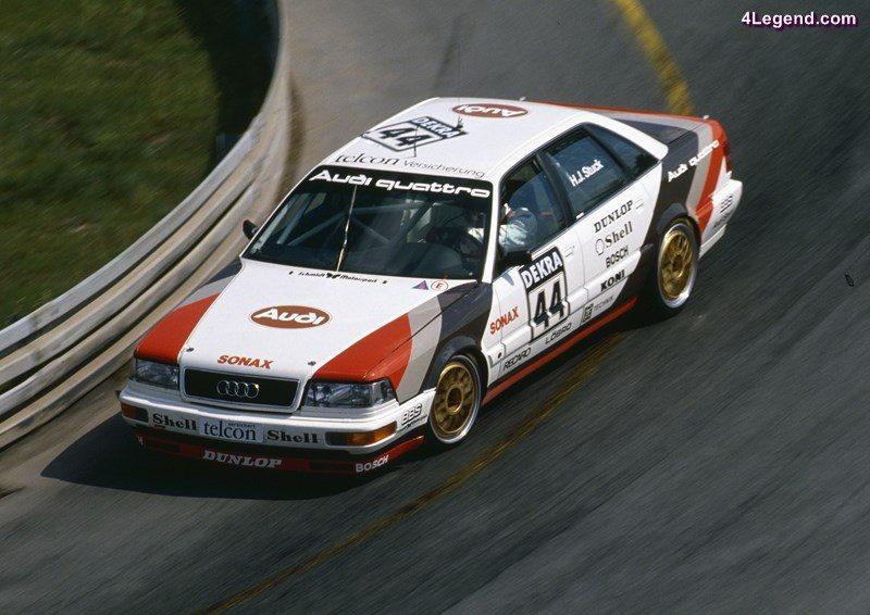 Audi V8 quattro #44 (SMS), Hans-Joachim Stuck, Norisring 1990