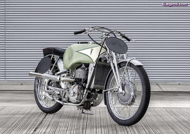 Nach vierjährigem Neuaufbau perfekt wie am ersten Tag: Die DKW UL 500 aus dem Jahre 1937.