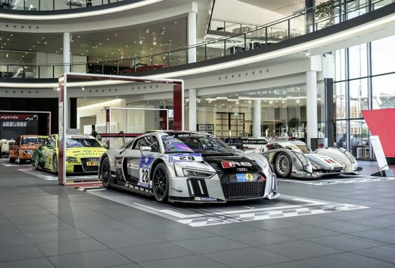 "Exposition spéciale ""Home of Legends"" à l'Audi Forum Neckarsulm"