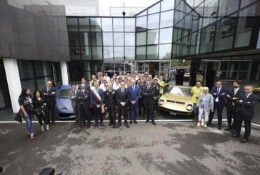 Automobili Lamborghini inaugure un nouveau musée à l'occasion des festivités des 50 ans de la Miura