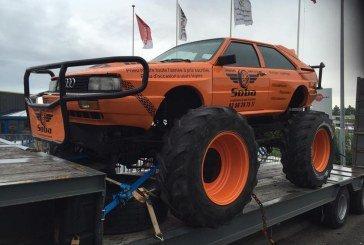 Monster truck Audi Ur-quattro – Une drôle d'Audi surélevée!