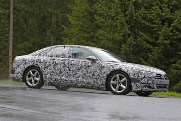 Spyshots de la nouvelle Audi A8 prévue pour 2017