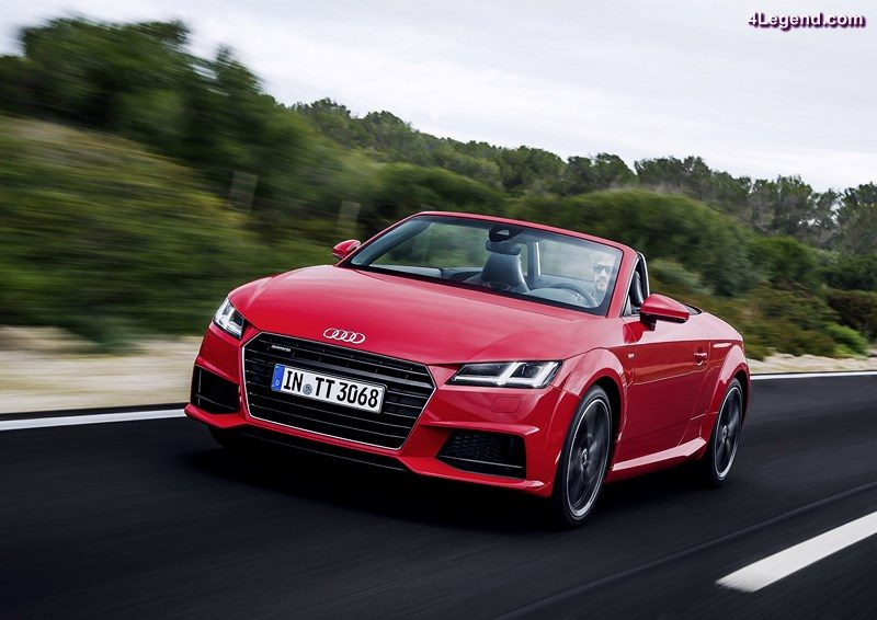 With around 953,200 units delivered, AUDI AG increased its sales since January by 5.6 percent, growing in all regions. Worldwide, especially the new models Audi A4 (+12.3%) and Audi Q7 full-size SUV (+73,6%) pushed the sales performance. Deliveries across all models increased by 7.4 percent in June to around 169,000 units with Audi surpassing its performance from the same month last year in all top ten sales markets.  Picture: the Audi TT Roadster
