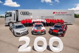 Production de la 200e Audi R8 LMS à Neckarsulm