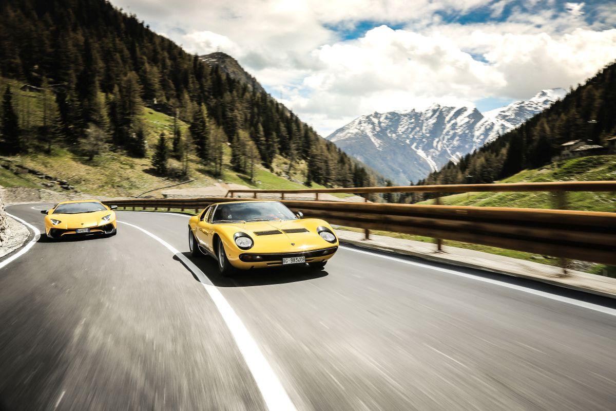 50 ans de la Lamborghini Miura - De nombreuses célébrations ont eu lieu notamment en Italie