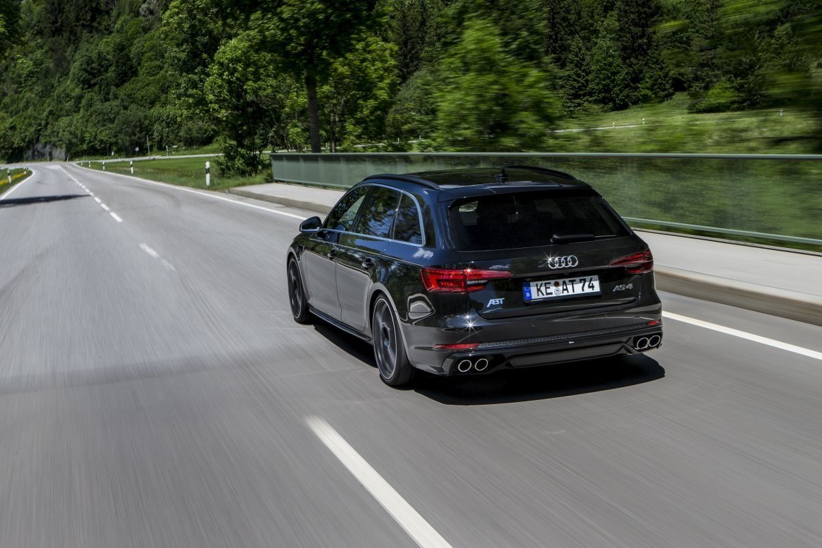 Nouvelle ABT AS4 - La nouvelle Audi A4 B9 revue par le préparateur allemand