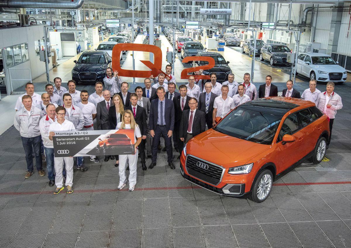 Nouvelle Audi Q2 - Lancement de sa production à Ingolstadt