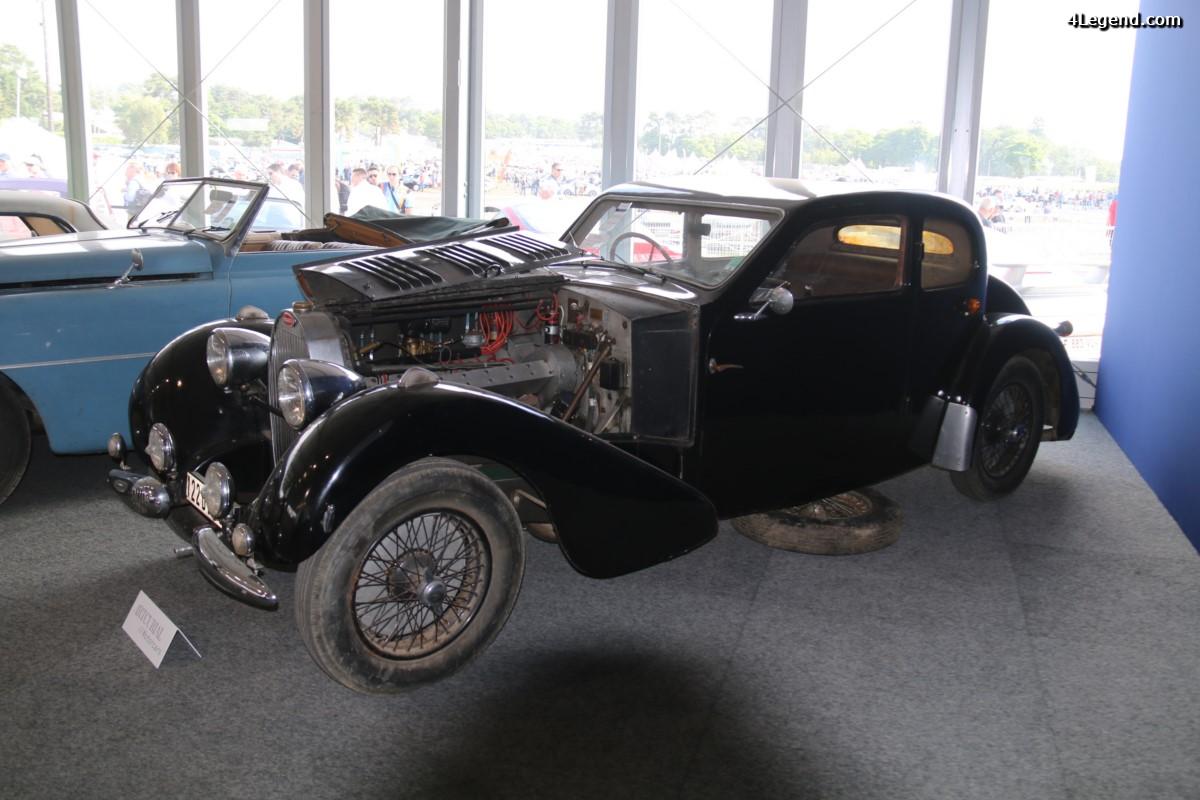 Le Mans Classic 2016 - Bugatti Type 57 Ventoux coach usine de 1937 vendue par Artcurial