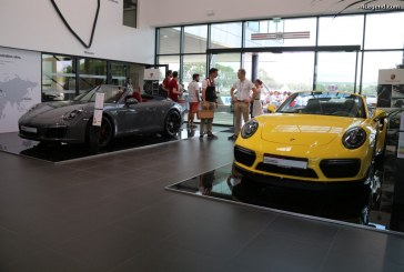 Le Mans Classic 2016 – De beaux modèles exposés au Porsche Experience Center